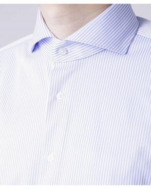 パターン1 Anti Soaked ストライプカッタウェイシャツ SL ナノ・ユニバースメンズ(オリジナル)を見る