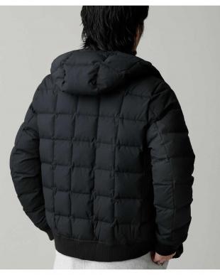 ブラック 河田フェザーRIBダウン ナノ・ユニバースメンズ(オリジナル)を見る