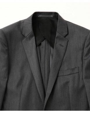 ネイビー シルク混ベネシャンシングルジャケット(セットアップ/スリーピース対応) ナノ・ユニバースメンズ(オリジナル)を見る