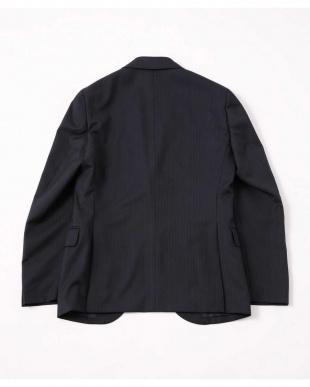 ネイビー SL REDA シャドーヘリンボンジャケット ナノ・ユニバースメンズ(オリジナル)を見る