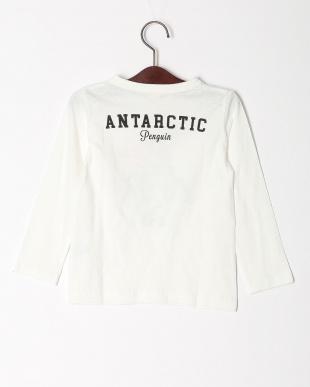 オフホワイト  ロングTシャツを見る