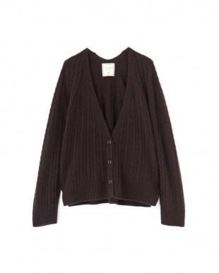 ブラウン ◆≪Japan couture≫ホールガーメントニット ヒューマン ウーマンを見る