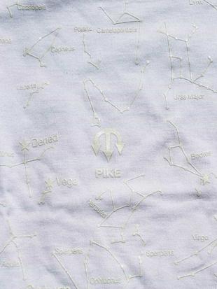 """ホワイト 【PIKE】Seiries """" パイク星座蓄光カットソー MK MICHEL KLEIN hommeを見る"""