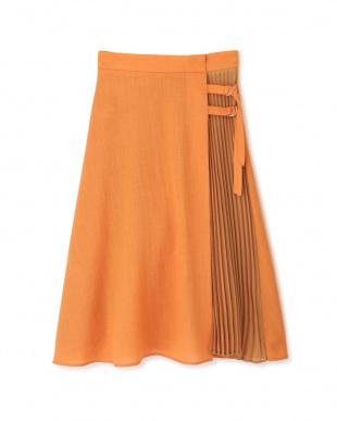 テラコッタ2 ◆サイドプリーツカラースカート プロポーション ボディードレッシングを見る
