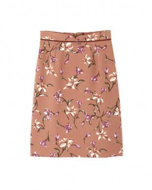 ブラウン |美人百花 10月号掲載|オータムシックリリータイトスカート プロポーション ボディードレッシングを見る