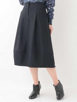 ネイビー ピンストライプデザインスカート GIANNI LO GIUDICEを見る