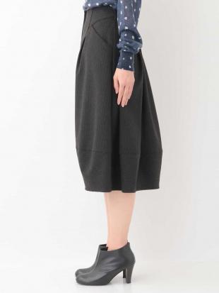 ダークグレー ピンストライプデザインスカート GIANNI LO GIUDICEを見る
