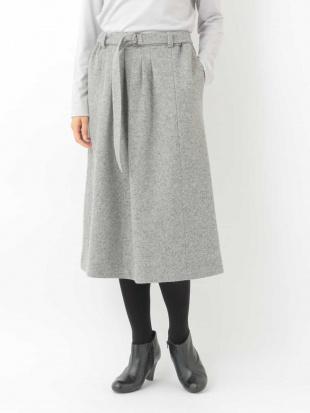 ネイビー 【後ろゴム】タックデザインスカート GIANNI LO GIUDICEを見る