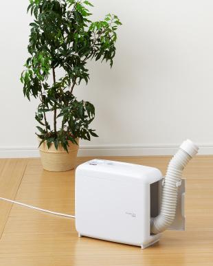 ホワイト さしこむだけのふとん乾燥機アロマドライを見る