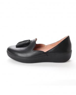BLACK Tassel Superskate D'Orsay Loaferを見る