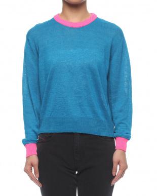 ブルー  Knitwearを見る