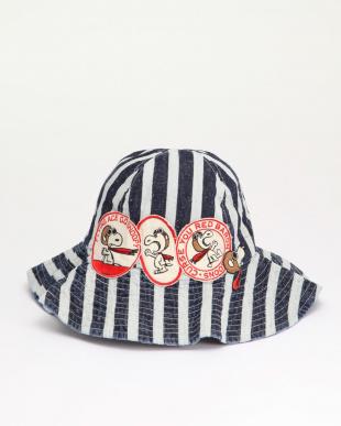 ブルー ネプデニム SNOOPY RED BARON HATを見る
