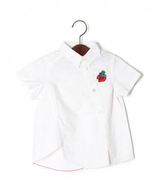 ホワイト HELLO KITTY ネジレハンソデシャツを見る