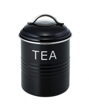 ブラック バーネット キャニスター TEA&COFFEE&SUGAR 3個セットを見る