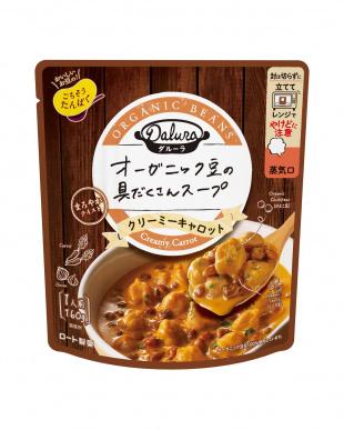 ダルーラ「豆と野菜のスープ3種計12袋」マグカップ付を見る