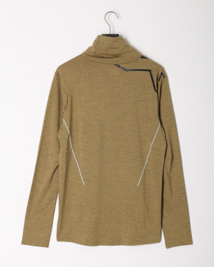 GLD/BLK  STRETCH CATIONL/S TOPを見る