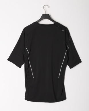 BLK/BLK STRETCH KNIT S/S TOPを見る