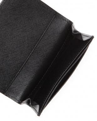 ブラック [トプカピ] TOPKAPI 角シボ型押し・名刺入れ CLASSICO クラシコを見る