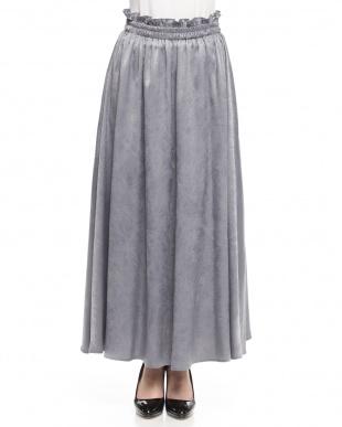 シルバー 光沢スカートを見る
