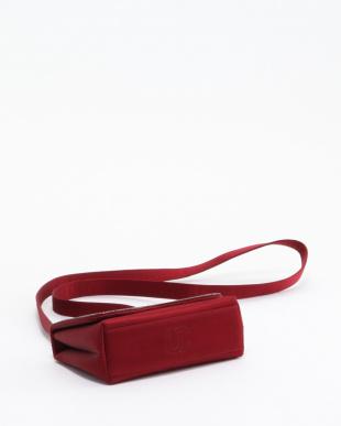 RED サテンミニポシェットショルダーバッグを見る