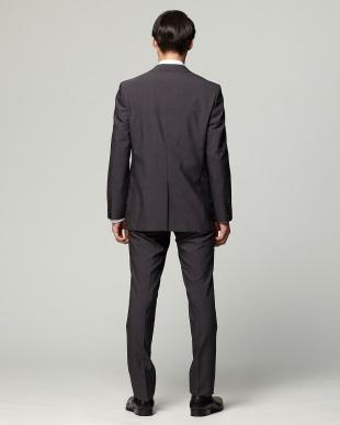 グレー 紳士スーツ ナロースタイルを見る