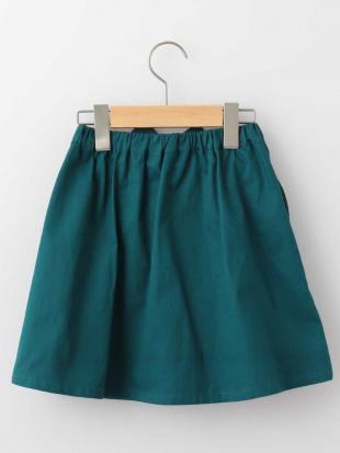 オレンジ [140-150]ウェストリボンカラースカート a.v.v bout de chouを見る