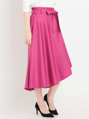 ピンク 【洗える】イレヘムカラースカート MK MICHEL KLEINを見る