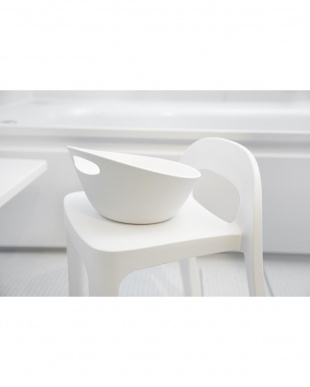 ホワイト RETTO Aラインチェア+湯手おけ セットを見る