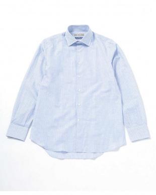 パターン21 SL パターンドファブリックセミワイドシャツ ナノ・ユニバースメンズ(オリジナル)を見る