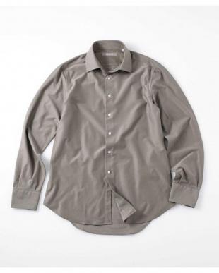 サックス5 SL EASY IRONツイルセミワイドカットシャツ ナノ・ユニバースメンズ(オリジナル)を見る