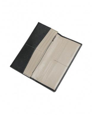 ブラック シュリー ゴートレザー 二つ折り 長財布を見る