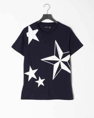navy 星柄Tシャツ×2枚セットを見る