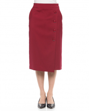 ピンク ラップタイトスカートを見る