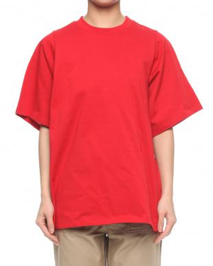 レッド ロングTシャツを見る