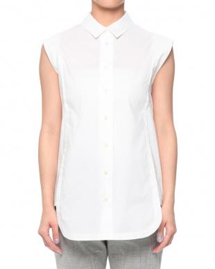 ホワイト サイドパネルシャツを見る