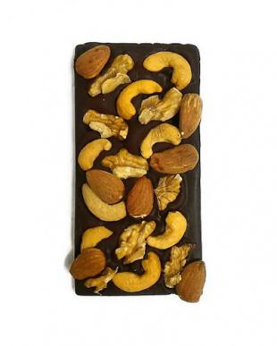 糖質カット・無添加チョコレート グランポワール フィリピン産カカオ90%+有機ミックスナッツ 77gを見る