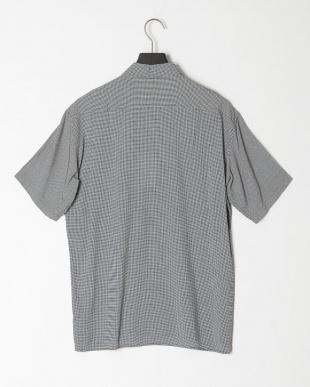 モノクロ ☆マイクロドットオープンカラーシャツを見る