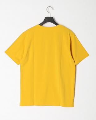 イエロー カラースキーム圧着Tシャツを見る