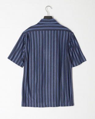 ブルーグレー テンセルジャージーオープンカラーシャツを見る