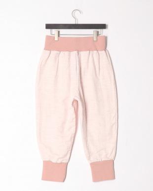 ピンク 湯上サルエル 霞を見る