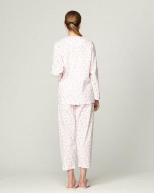 ピンク レディースパジャマ 楊柳 チュリプを見る