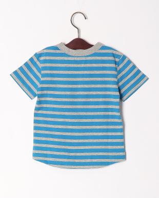 ブルー ボーダーリンガーTシャツを見る