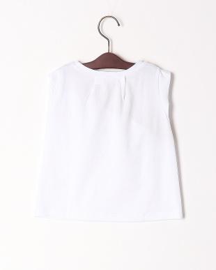 ホワイト ブロードリボンTシャツを見る