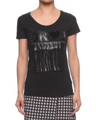 BLACK  DR♡J フリンジTシャツを見る