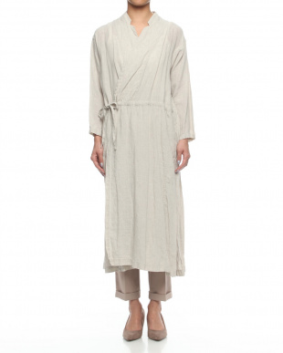 Lブルー (N)Fine Linen LONG OUTERを見る