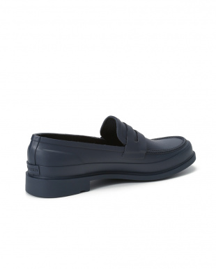 NAVY MENS REFINED PENNY LOAFERを見る