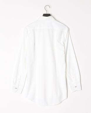 ホワイト 【イージーケア】ジャージーソリッドボタンダウンシャツを見る