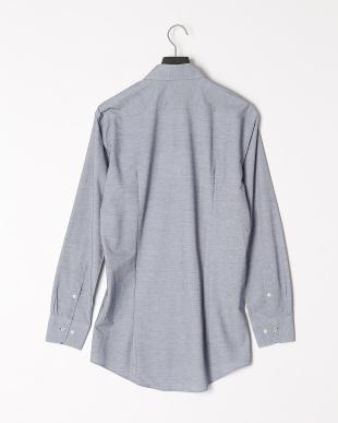 ブルー 【イージーケア】ジャージーソリッドボタンダウンシャツを見る