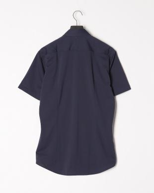 ブルー 【イージーケア】 ジャージーソリッドボタンダウンシャツを見る