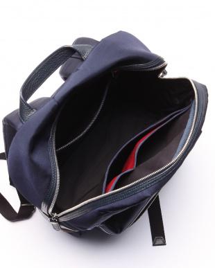 ブルー クレストブリッジチェック バッグパックを見る